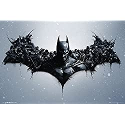 GB eye LTD, Batman Origins, Arkham Bats, Maxi Poster, 61 x 91,5 cm