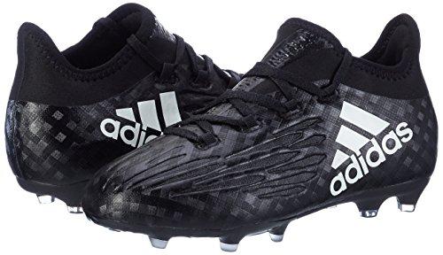 adidas Jungen X 16.1 Fg J Fußballschuhe Schwarz (Core Black / Ftwr White / Core Black)