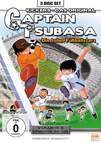 Captain Tsubasa: Die tollen Fußballstars, Vol. 4 - Episoden 96-128 (3 DVDs)