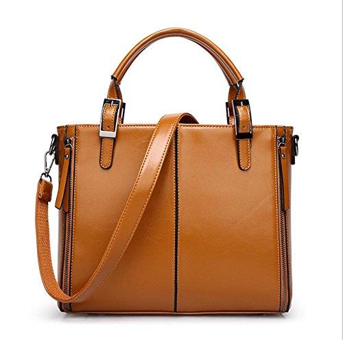 GBT Neue Handtasche Schulter-Beutel-Handtaschen-Art und Weise 2016 Brown