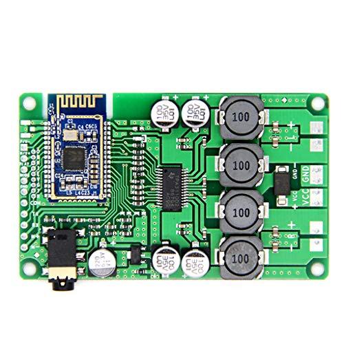 Werst Bluetooth 5.0 Verstärker Board 2x15W/10W AUX Audio-Eingang DC 8-22V (Subwoofer Power 8 Bass)