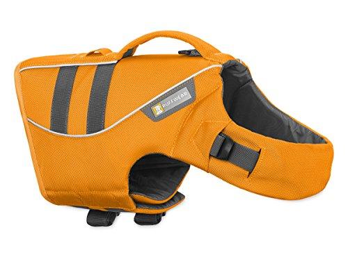 Ruffwear Schwimmweste für Hunde, Sehr kleine Hunderassen, Größenverstellbar, Größe: XS, Orange, Float Coat, 45102-807S1