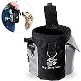 Futterbeutel für Hunde,Trainingsbeutel Hund,UEETEK Oxford Hände Frei Hund Treat Tasche mit Eingebautem Poop Tasche Spender ,12.5 * 8 * 12.5CM(L*W*H)