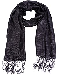 Womens Sequin Sparkle Party Wedding Neck Wrap Shawl Scarf Scarves Stole Hijab