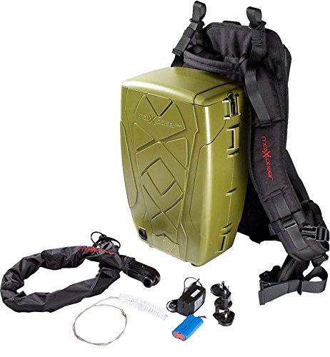 Maxxloader - Maxxloader™ 2000 – Paintball Rucksack Loader mit 2000 Schuss Backpack mit robustem Container für die Paint, Hochtechnologischer Fördermechanismus (Paintball Rucksack)