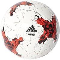 Top Glider Coupe Confédérations - Ballon Entraînement de Foot - Blanc/Rouge/Gris