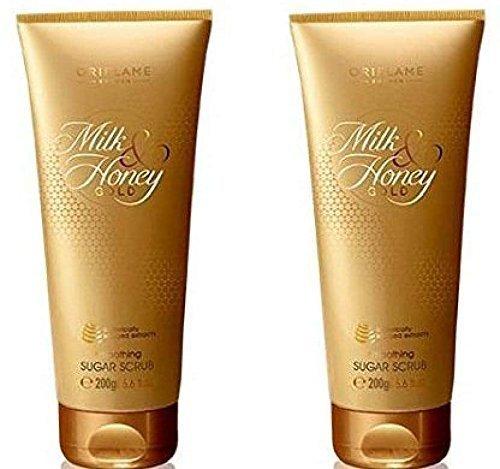 Oriflame Sweden Milk And Honey Gold Set Scrub, 400 Ml
