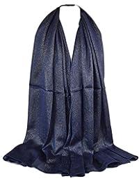 GFM cálido invierno hermoso Top de la gama SC445lujo funda bufanda–Suave al Tacto con roseta y borlas