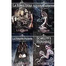 Scarlett's Heroines - La Tetralogia Completa (Italian Edition)