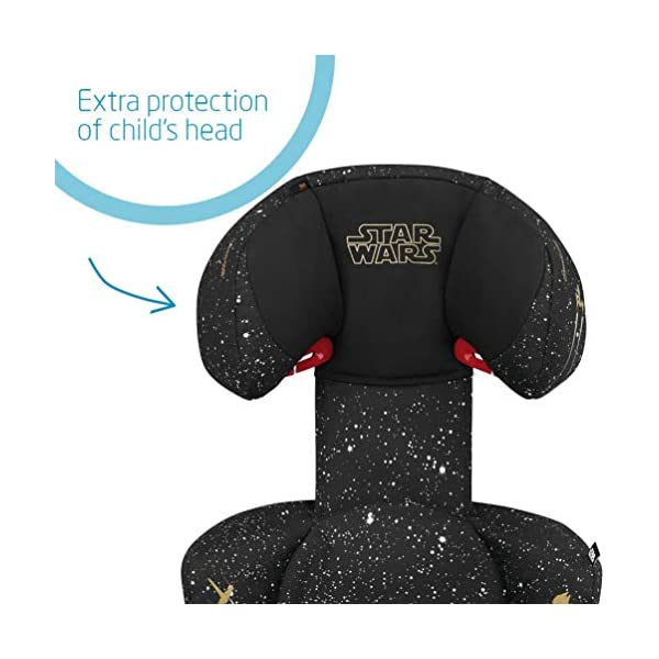 Maxi-Cosi Rodi AirProtect Child Car Seat, Lightweight Highback Booster, 3.5-12 Years, 15-36 kg, Star Wars Maxi-Cosi Child car seat, suitable from 3.5 to 12 years (15-36 kg) Easily install this safe car seat with a three point seat belt and attach the anchorage point in the head rest through your cars head rest Patented AirProtect technology in headrest reduces the risk of head and neck injuries up to 20 percent 4