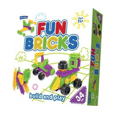 John Adams 10631Spielen Blocks, Ziegel, Multi Adams-block