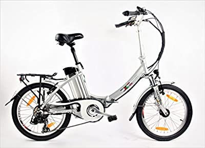 xGerman Elektro-Faltrad 20 Zoll eTurbo COMFORT 7G Shimano LCD, 250W HR-Antrieb/10Ah, bis 80 km Reichweite nach StVZO