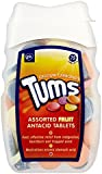 6 x Tums Assorted Fruit Antacid Tablets 75 Tablets