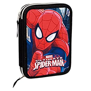 Spiderman Plumier Marvel Ultimate Doble