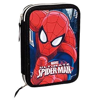 Plumier Spiderman Marvel Ultimate doble