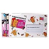 bb10 Schmuck Scherzartikel Willkommen im Club der Alten Schachteln Geldgeschenkumschlag XXL Umschlag für Geldgeschenke oder Gutscheine Geschenkgutschein für Geburtstag oder andere Party