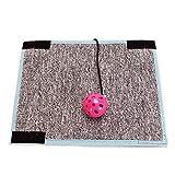 PETCUTE Kratzmatten, Katzenkratzbaum, Scratch Pad für Tisch Stuhl Sofa Beine Kratzen Prävention Mat, Velcro Design