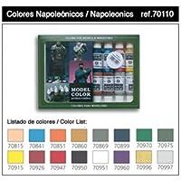 Vallejo val899 Peinture Model Color napoléoniennes Peinture acrylique – Couleurs assorties (Lot de 16)