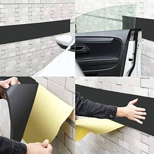 DiversityWrap Selbstklebender Garagentürschutz - dicker, weicher, langlebiger Wandschutz, 10 m x 10 cm, ausreichend für 2 Wände