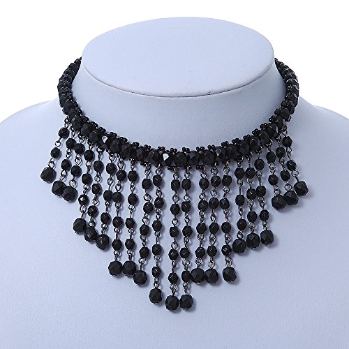schick-victorian-gothic-burlesque-black-pearl-choker-necklace-bib-style-in