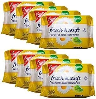 Gut Gunstig 8 Pack 560 Blatt Feuchtes Toilettenpapier 4er Pack Kamille 4er Pack Sensitiv Amazon De Drogerie Korperpflege