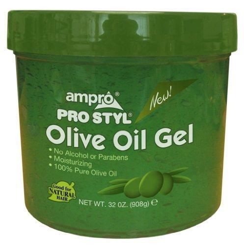 Ampro Styling Gel - Olive 32 oz. (Pack of 3)