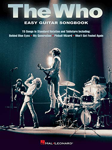 The Who - Easy Guitar Songbook (English Edition)