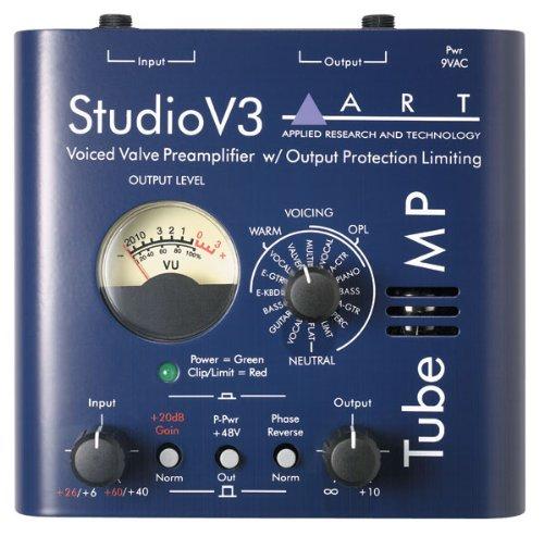 ART Tube MP V3Tube Mikrofon-Vorverstärker mit variablem Value-Voicing