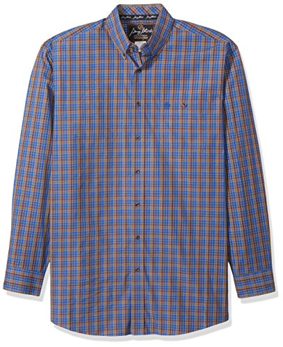 Wrangler herren Men's George Strait Big and Tall One Pocket Shirt  Button Down Hemd  -  mehrfarbig -  (Big Button-down-hemd And Tall)