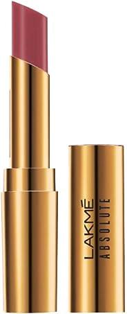 Lakme Absolute Argan Oil Lip Color, Soft Mauve, 3.4g
