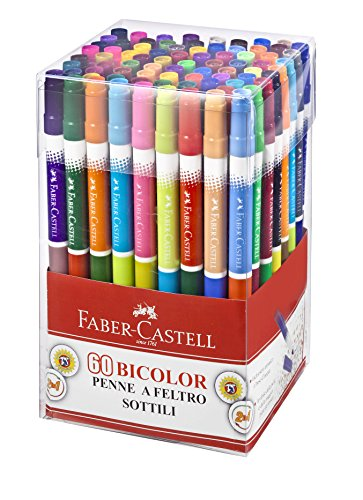Faber-Castell 15060698060rotulador, 60unidades)