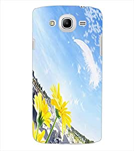 ColourCraft Lovely Scenery Design Back Case Cover for SAMSUNG GALAXY MEGA 5.8 I9150