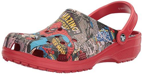 Crocs - Unisex-Erwachsene klassische Spiderman Clog Schuhe, EUR: 42.5, (Spiderman Für Erwachsene Schuhe)