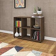 Tecnomobili Bookcase, Walnut, RIV035