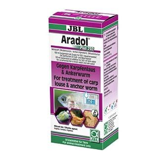 JBL Aradol Plus 250 100 ml, Remedy against carp lice and anchor worms in aquarium fish 14