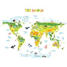 Amazon.es: Mapamundi infantil