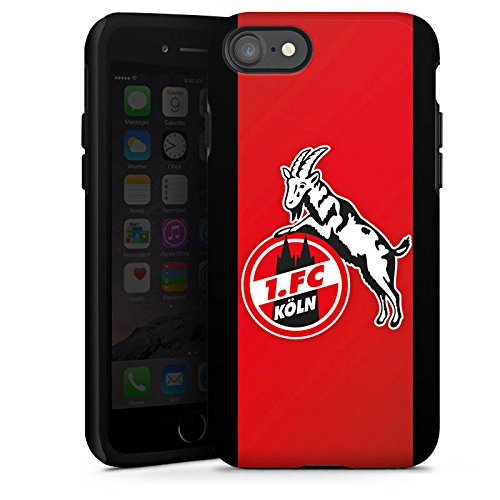 Apple iPhone 8 Plus Hülle Case Handyhülle 1. FC Köln Fanartikel Fussball Tough Case glänzend
