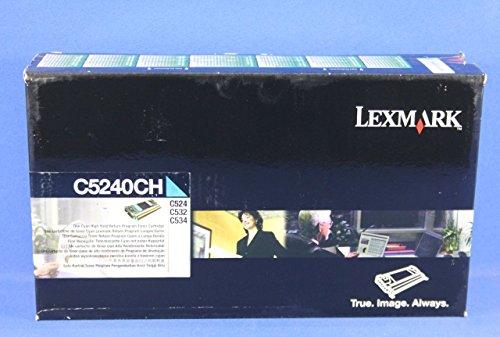 Preisvergleich Produktbild Lexmark–Hohe Ergiebigkeit–Cyan–Original–Toner Kartusche–LCCP, LRP (C