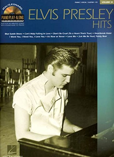 Elvis presley hits piano+CD: Piano Play Along