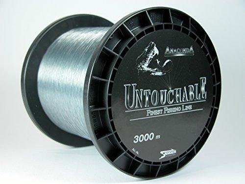 Anaconda Untouchable monofile Angelschnur 3000m 0,18mm 3,7 kg