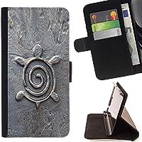 For LG G4c Curve H522Y (G4 MINI), NOT FOR LG G4,S-type Architettura Design Figurine di pietra - Disegno di cuoio di stile del raccoglitore della Case di telefono della pelle custodia