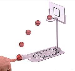 24x7 eMall Mini Desktop Basketball Portable Game Set
