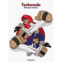Taekwondo libro para colorear 1: Volume 1