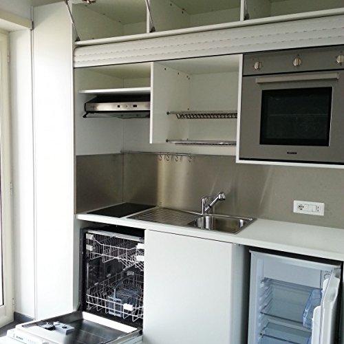 Night&day cucina completa di elettrodomestici 246cm salvaspazio