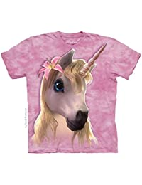 Tee shirt enfant Licorne rose