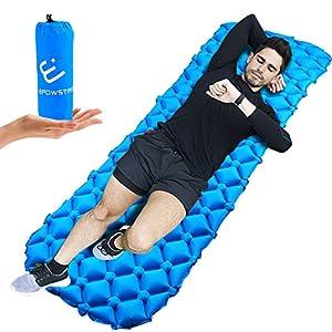 ELEPOWSTAR Auto gonfiamento Campeggio materassino tappetino per dormire leggero, compatto e impermeabile tappetino per le tende escursionismo, zaino in spalla, tenda, campeggio, viaggio
