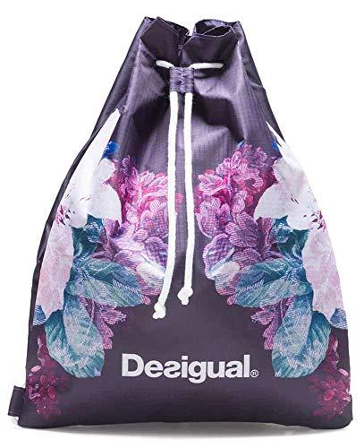Desigual Art and Thread Gym Sack Shadow Purple
