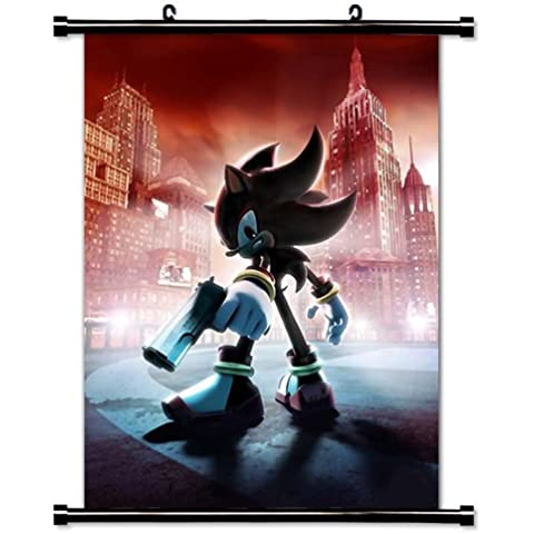 Sonic the Hedgehog Game Fabric Wall Scroll Poster (16x21) Inches