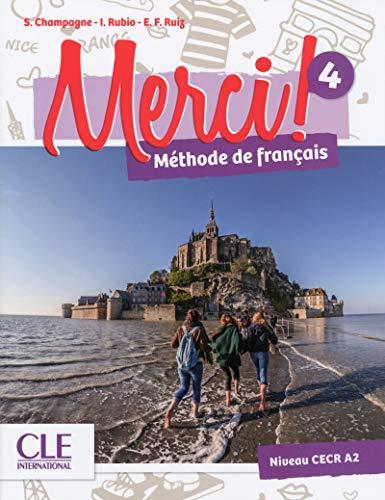 Merci fle niveau 4 manuel eleve + DVD ROM - vol04 por Adrien Payet