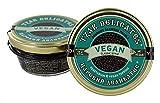 Tzar Caviar - Perles d'algues VEGAN gourmet - verre 105 grammes noir